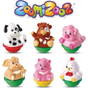 FIGURINE - PERSONNAGE VTECH - ZOOMIZOOZ - Coffret 6 Animaux Ferme