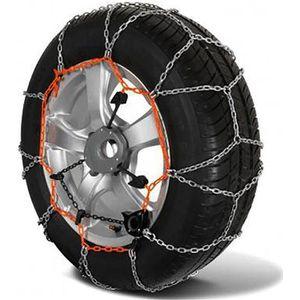 Chaine /à neige Eco 9mm pneu 145R15 montage rapide Boite comprenant 2 chaines neige