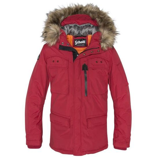 Snorkel Blh Parka Rouge Schott Nyc Thunder Homme Coll xBrCedoW