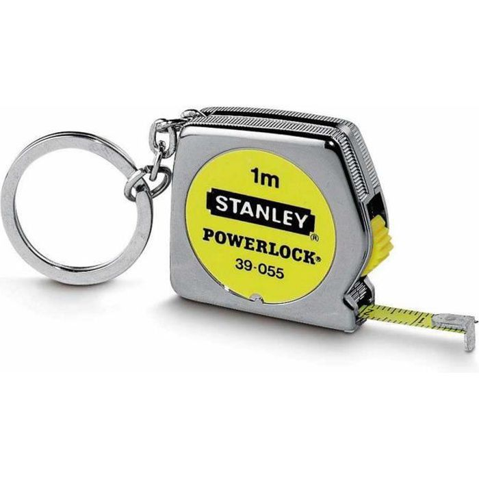 STANLEY Mètre ruban 1m porte clefs