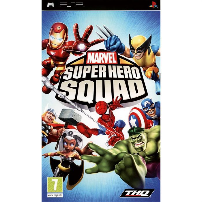 marvel super hero squad jeu psp achat vente jeu psp marvel super hero squad psp cdiscount