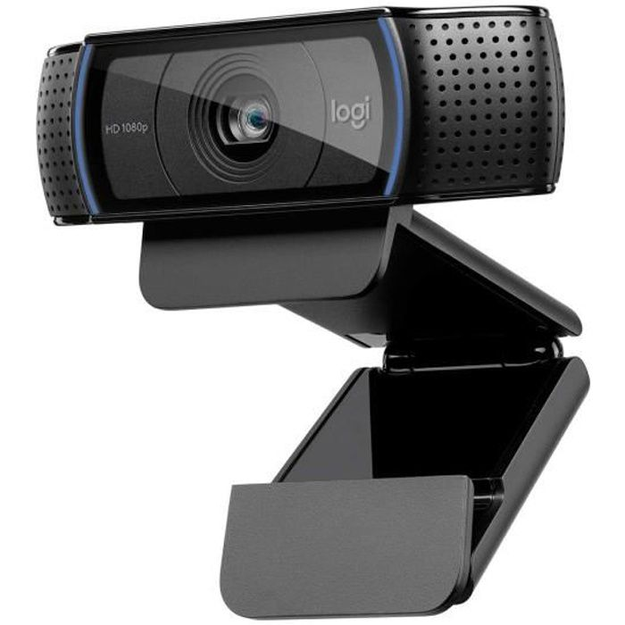 WEBCAM LOGITECH Webcam HD Pro C920 Refresh - Microphone i
