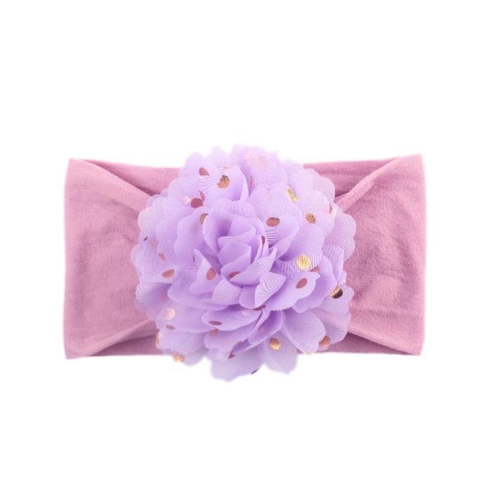 Soins bébéFilles bébé bambin princesse bandeau floral bande de cheveux accessoires couvre-chefs CXF90327244N_YOU