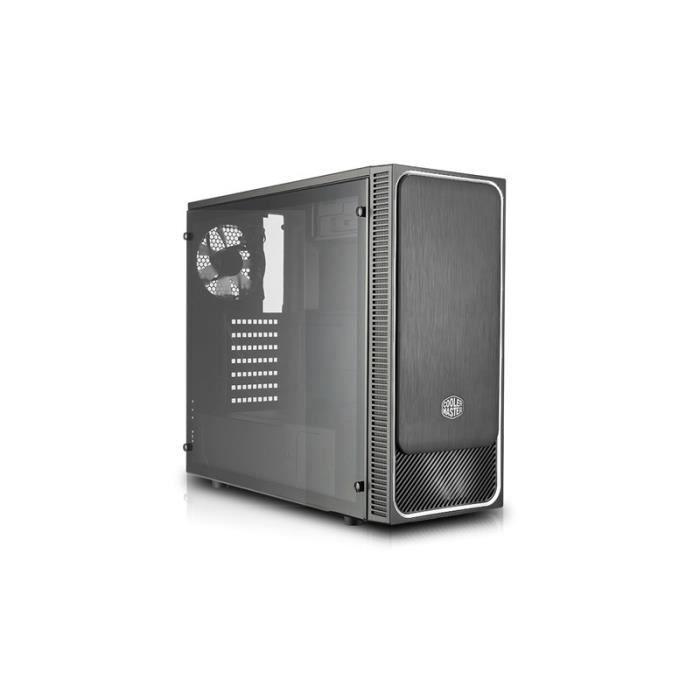 COOLER MASTER Boîtier PC MasterBox E500L windows - Argenté