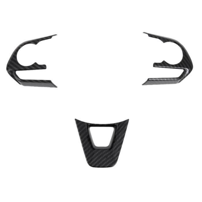 pour Toyota Rav4 Rav 4 2019 2020 Volant de Voiture en Fibre de Carbone Housse de Protection Garniture Autocollant Accessoires