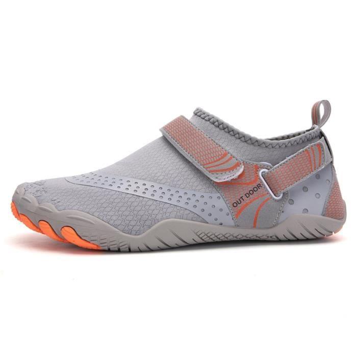 A021 grey 36 -Vanmie – chaussures de Sport aquatique pour hommes et femmes, baskets de plage, nu pieds pour la natation, taille 38 à