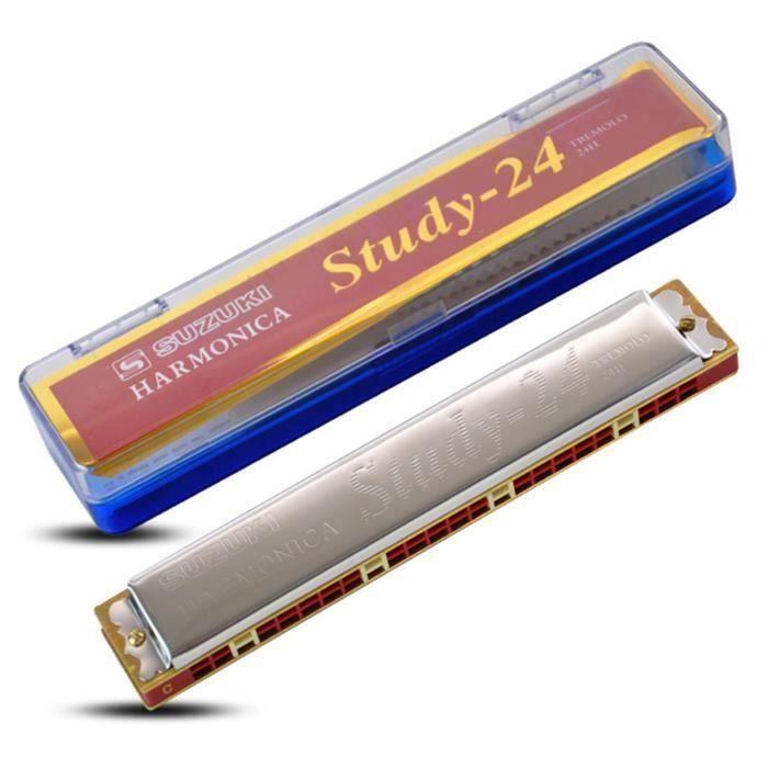 Suzuki Harmonica 24 Trous Polyphonique C# Tonalité So71034