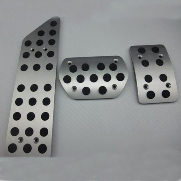 Pièces Auto,Repose pieds en acier inoxydable, pédale de frein à carburant, pour Peugeot 508 et citroën C5 - Type AT