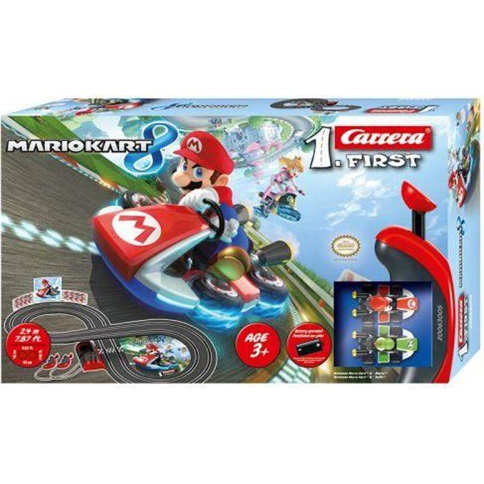 Circuit Miniature - Carrera First 63005 Mario Kart 8
