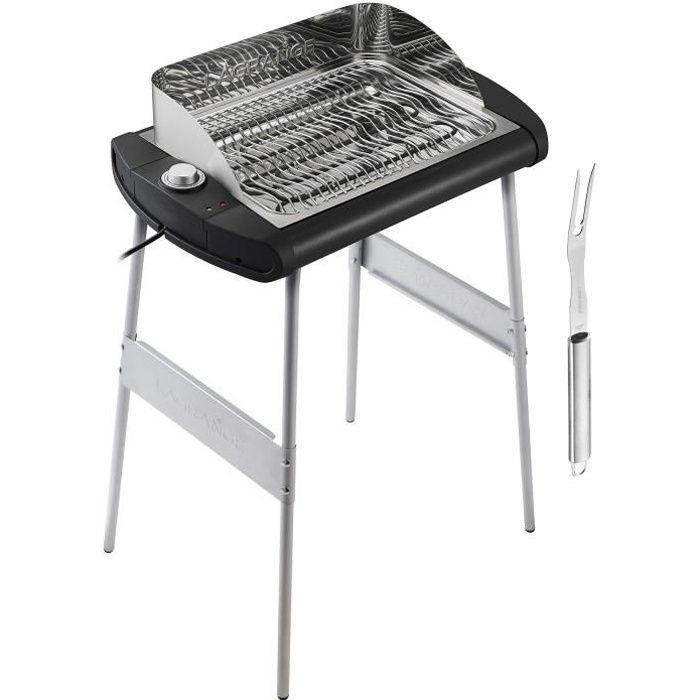 LAGRANGE 319005 Barbecue -Pavillon- - 2300 W - Large grille de cuisson : 40 x 28 cm