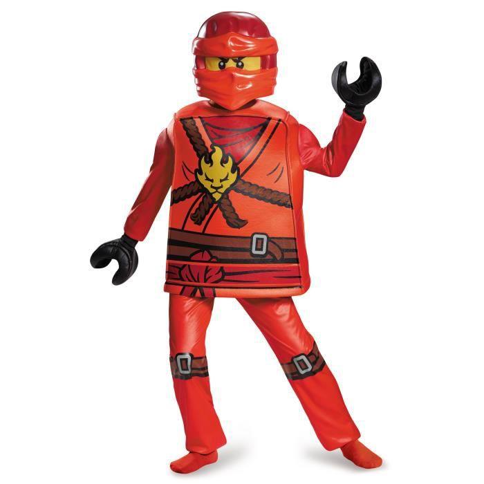 Déguisement deluxe Kai Ninjago LEGO enfant