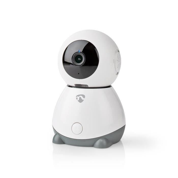NEDIS Caméra IP d'intérieur intelligente et simple d'utilisation