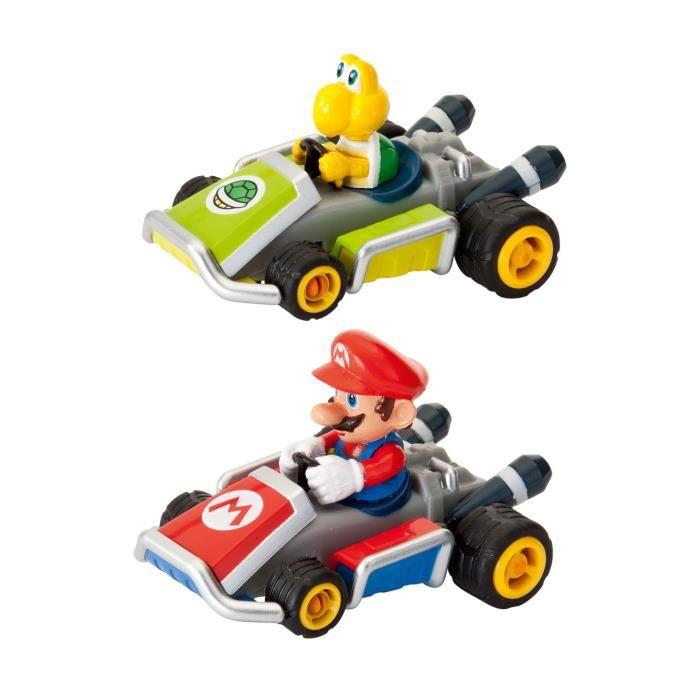 NintendoMario Kart 7 Pack de 2 véhicules à friction Mario Kart 7.