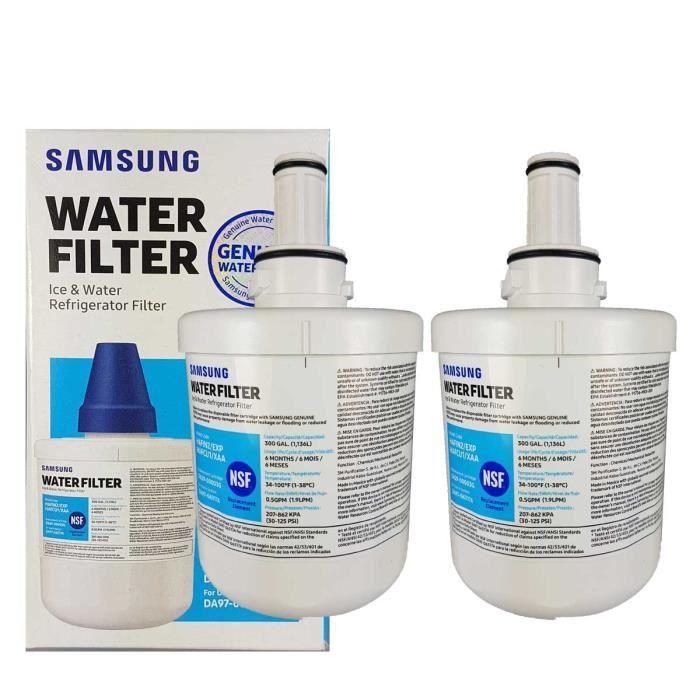 Filtre Origine SAMSUNG DA2900003G HAFIN2/EXP par 2 normes NSF/ANSI 42 - 53 - 401