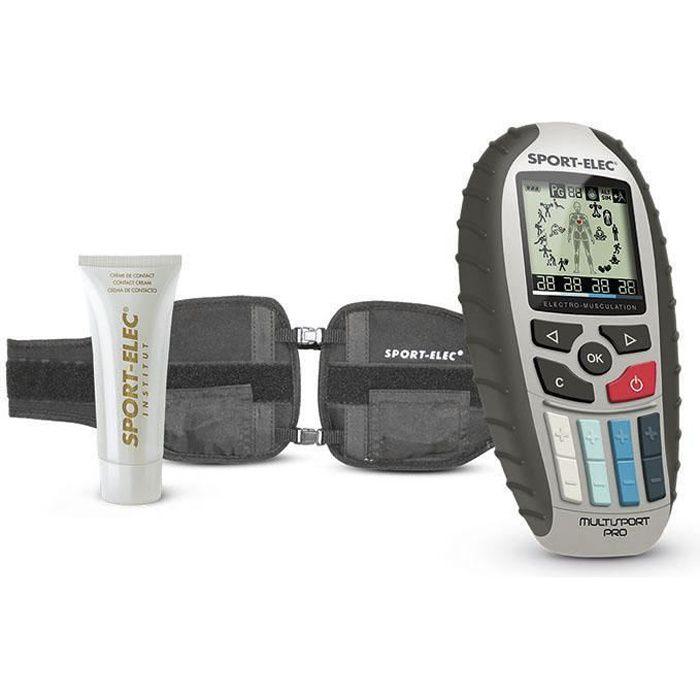 Sport-Elec - Multisport Pro Précision - Ceinture abdominale électrostimulation musculaire mixte - 8 programmes - 2 catégories -sport