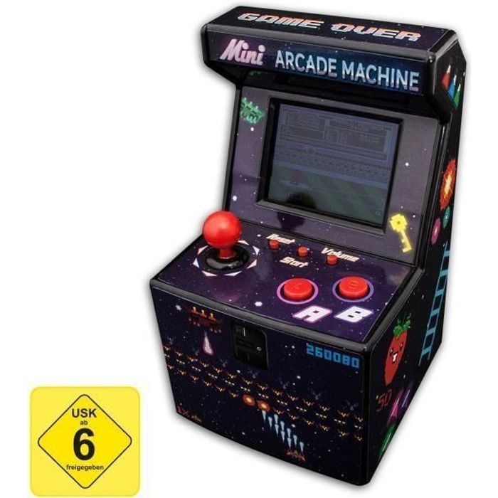 THUMBSUP! 240 in1 - Mini Machine de jeux d'arcade