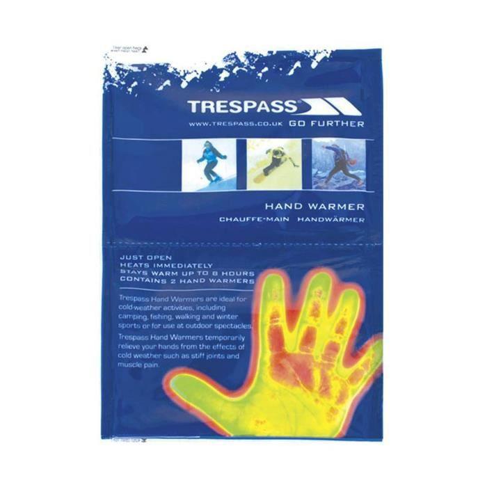 Trespass - Chauffe-mains (lot de 2)