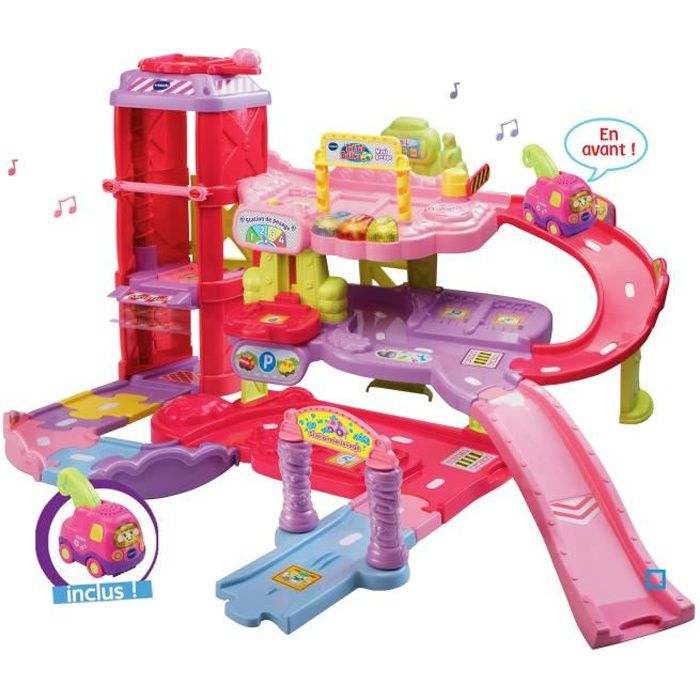 VTECH - TUT TUT BOLIDES Maxi Garage Educatif Rose