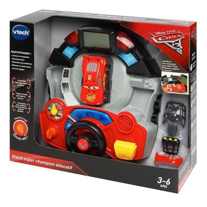 CARS 3 - Stand Super Champion Éducatif
