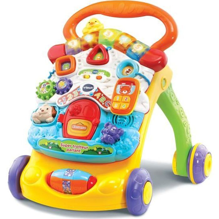 VTECH - Super Trotteur Parlant 2 en 1 Orange