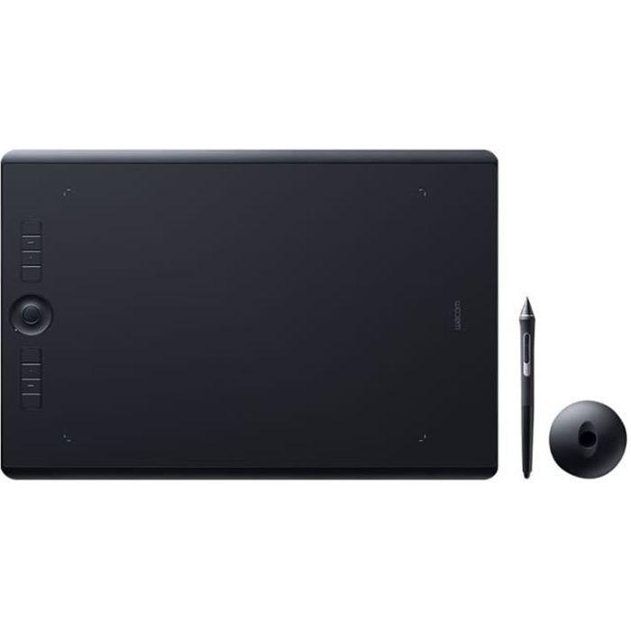 Wacom Intuos Pro Large - Numériseur - 31.1 x 21.6 cm - multitactile - électromagnétique - 8 boutons - sans fil, filaire
