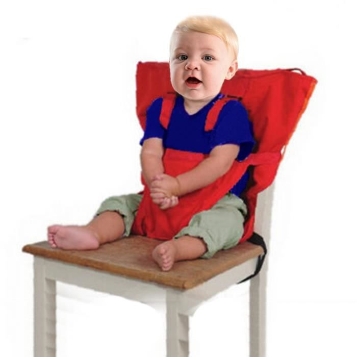 Highdas Tissu De Voyage Portable Chaise Haute Siege D Appoint Pour Bebes Infant Rouge Achat Vente Rehausseur Siege 0602045058055 Cdiscount