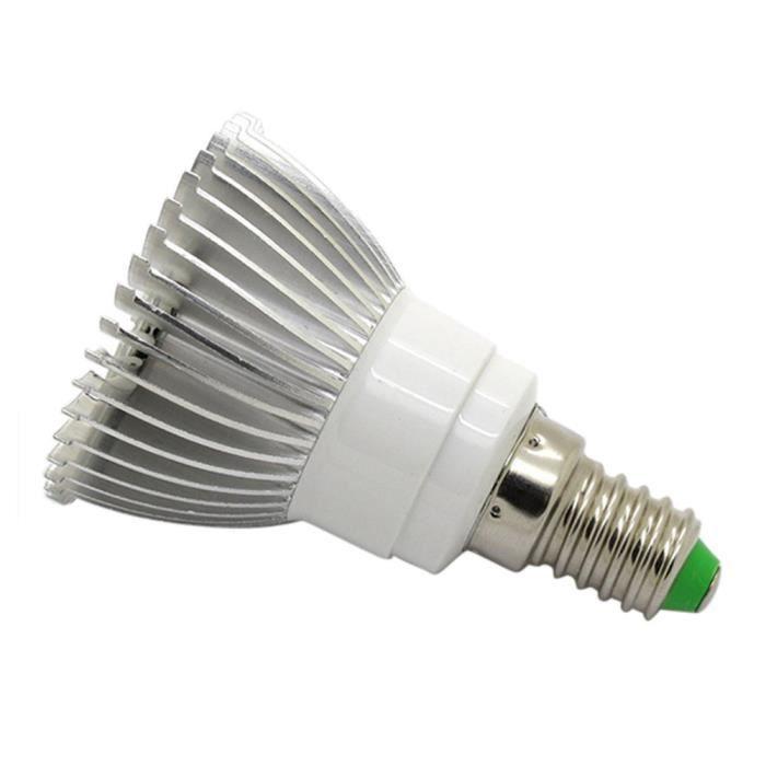 AMPOULE - LED E27 E14 GU10 4W 28 LEDPlant grandir Ampoule hydrop