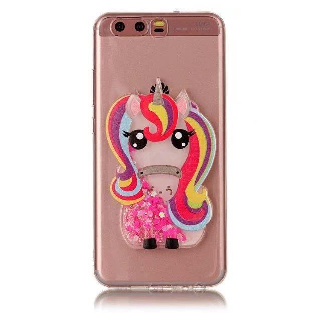 Coque Samsung Galaxy Grand Prime G530.Licorne arc-en-ciel rose ...