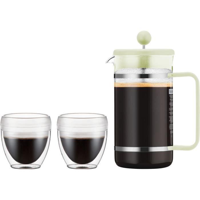 Bodum CAFETIERE de rechange verre 1L 8 tasse Espresso Taille cafetière presse française