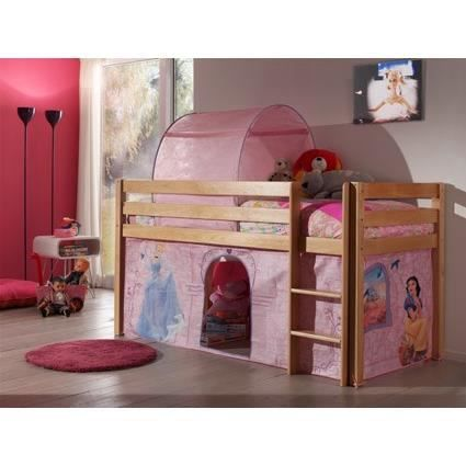 forrest lit enfant sur lev bois disney princess achat vente lit mezzanine forrest lit. Black Bedroom Furniture Sets. Home Design Ideas