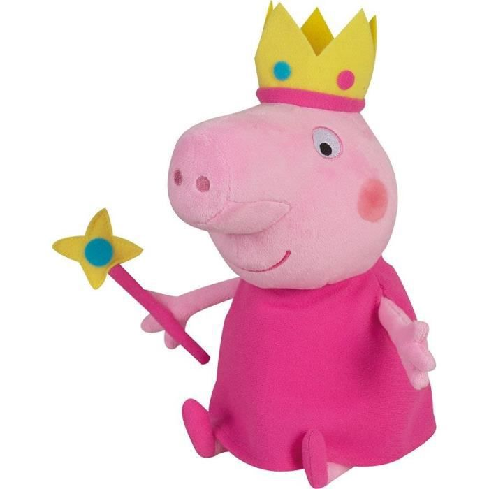 peppa pig peluche princesse achat vente peluche. Black Bedroom Furniture Sets. Home Design Ideas