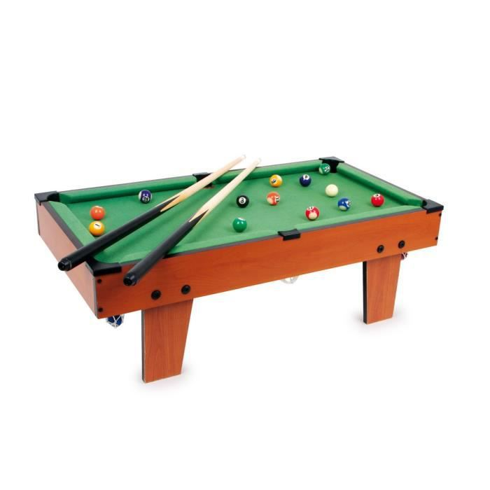 billard de table denez achat vente billard cdiscount. Black Bedroom Furniture Sets. Home Design Ideas