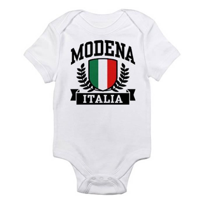 Body bebe tbaby0130 modena italia infant bodysuit blanc for Bebe italia