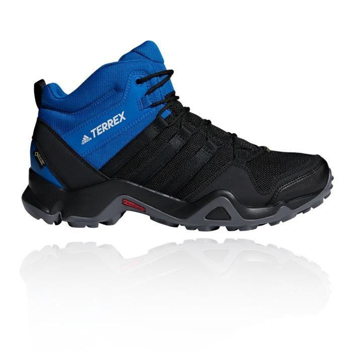 Adidas Hommes Terrex Ax2R Mid Gore Tex Chaussure De Marche Randonnée