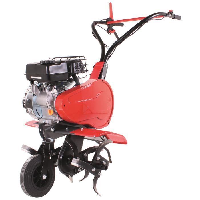vidaXL Motobineuse à essence 5 CV 2,8 kW Motoculteur pour bricolage de jardin