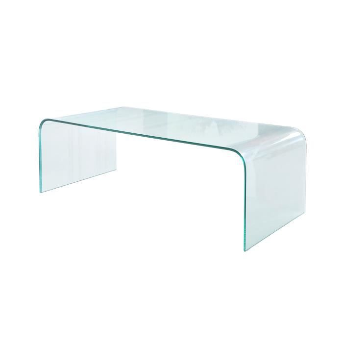 Table basse en verre achat vente table basse table for Table basse verre but
