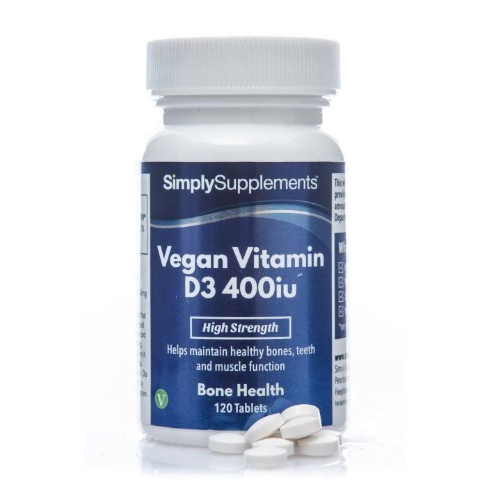 COMPLÉMENT ARTICULATION Vitamine D3 Végane 400 iu | 120 Gélules