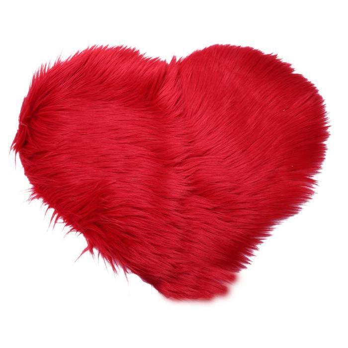 TAPIS Amour imitation laine tapis tapis matelas couvertu