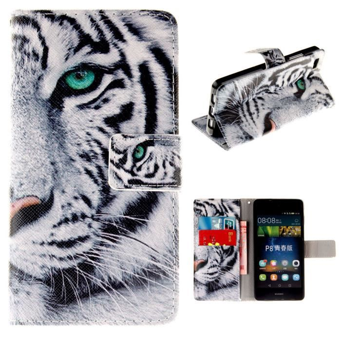 coque huawei p8 lite animaux