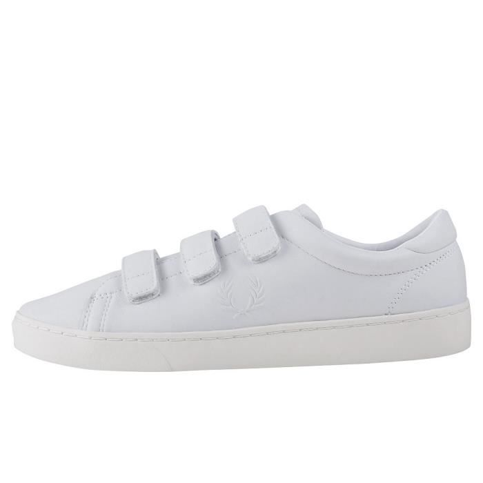 Fred Perry Spencer Premium Hommes Baskets Blanc - 10 UK fFLTXA4QjY