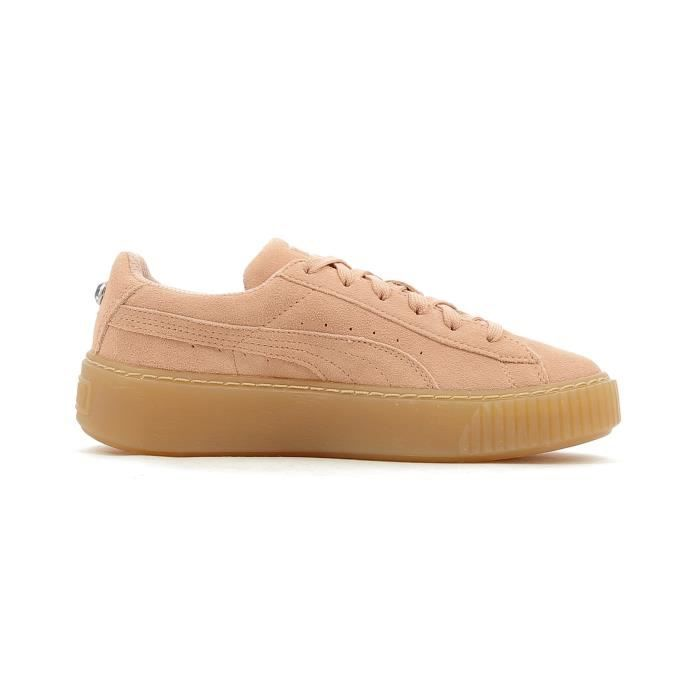 Baskets basses Puma Suede Platform Jewel PS