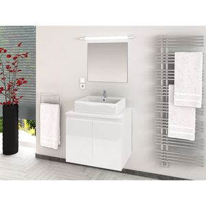 cina ensemble salle de bain simple vasque l 60 cm