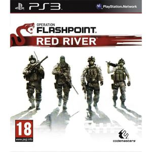 JEU PS3 OPERATION FLASHPOINT: RED RIVER / Jeu console PS3