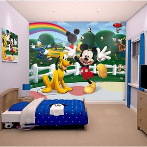 Papier peint enfant MICKEY Sticker Géant Fresque Murale Décorative