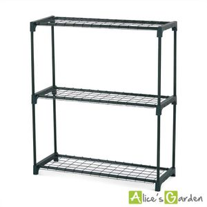 etagere plantes achat vente etagere plantes pas cher soldes cdiscount. Black Bedroom Furniture Sets. Home Design Ideas