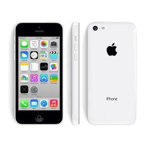 SMARTPHONE iPHONE 5C BLANC 16Go OCCASION COMME NEUF
