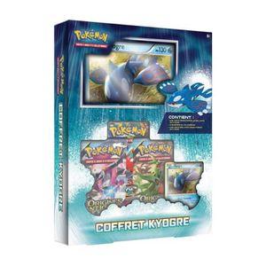 CARTE A COLLECTIONNER Pokemon - Coffret Kyogre
