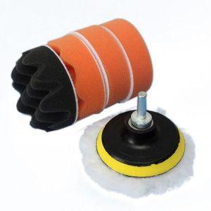 MATÉRIEL LUSTRAGE 6pcs 3 pouces roue de polissage Pad Kit de polissa
