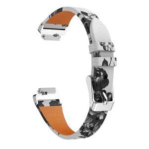 BRACELET MONTRE CONNEC. Impression cuir Bracelets montres bracelets sangle