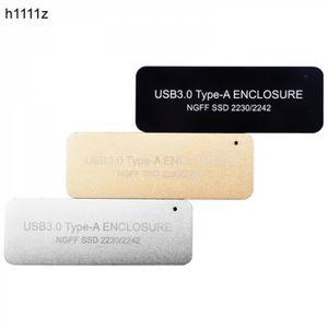 HOUSSE DISQUE DUR EXT. Boîtier HDD USB3.0 TYPE-A à NGFF M2 disque SSD boî